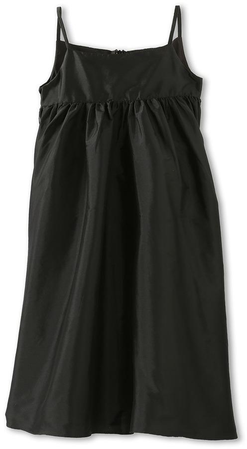 Us Angels Silky Taffeta Empire Dress (Little Kids)