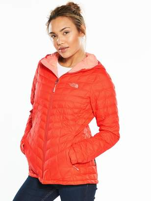 The North Face ThermoballTM Full Zip Hooded Jacket - Red