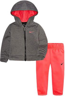 Nike Infant 2-pc. Logo Pant Set - Baby Girls