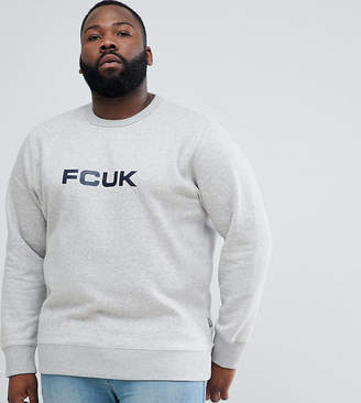 French Connection PLUS Crew Neck Logo Sweater