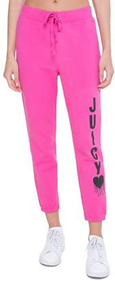 Juicy Couture Fleece Inked Heart Silverlake Pant