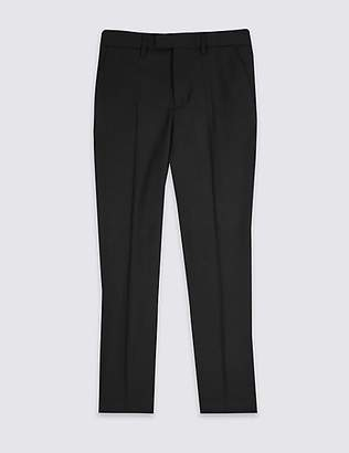 Marks and Spencer Flat Front Trousers (3-16 Years)
