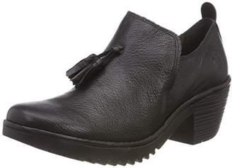 Fly London Women's WARN911FLY Closed Toe Heels, (Black 000), 4 (37 EU)