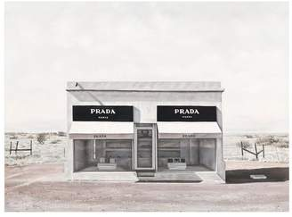 Marfa Printed Wall Art Frame /