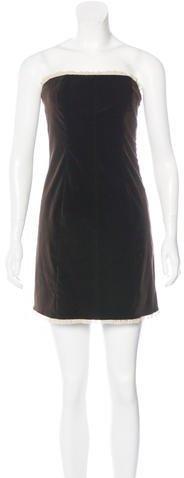 RED ValentinoRed Valentino Velvet Mini Dress