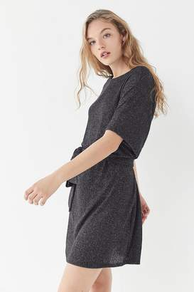 Urban Outfitters Cozy Ribbed Kimono Sweater Dress