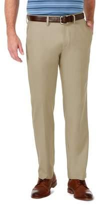 """Haggar Classic Fit Flat Front Pants - 29-34\"""" Inseam"""