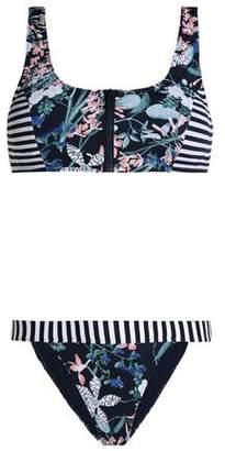 Tart Collections Riley Paneled Printed Bikini