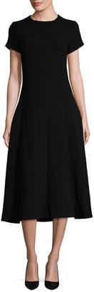 Celine Zipped Midi Dress