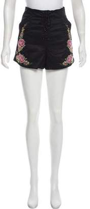 Alice McCall West Coast High-Rise Shorts w/ Tags