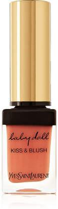 Saint Laurent Baby Doll Kiss & Blush - 04 Orange Fougueux