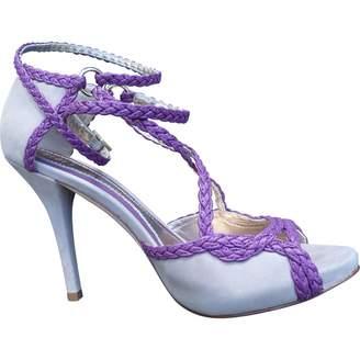 Bloch Beige Leather Heels