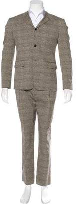 Marc Jacobs Textured Check Two-Piece Suit