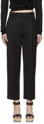 See by Chloe Black Darted Trousers