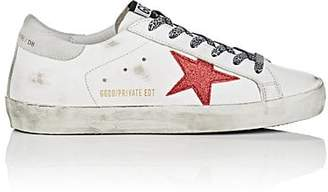 Golden Goose Women's Superstar Suede Sneakers - White