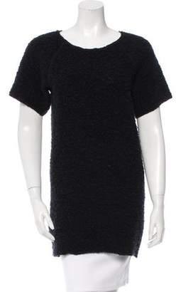 Etoile Isabel Marant Textured Short Sleeve Tunic
