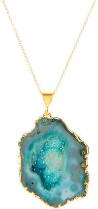 Magpie Rose - Rocks In The Sky Green Pendant