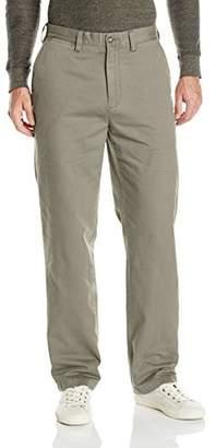 Nautica Men's Twill Flat-Front Pant