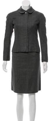 Chanel Linen Skirt Suit w/ Tags