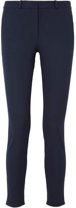 Joseph New Eliston Cropped Stretch-gabardine Slim-leg Pants - Navy