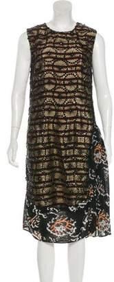 Dries Van Noten Striped Sequin Dress