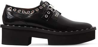 Robert Clergerie 50mm Bridget Brushed Leather Shoes