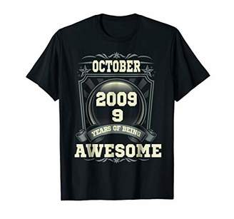 October 2009 9th Years Of Being Awesome Birthday Gift