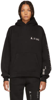 Alexander Wang Black Credit Card Hoodie