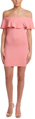 Susana Monaco Hannah Off-The-Shoulder Sheath Dress