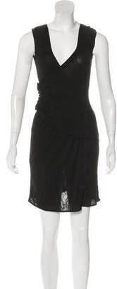 Dolce & Gabbana Sleeveless Ruched Dress