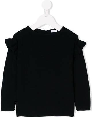 Il Gufo ruffled sleeve jumper