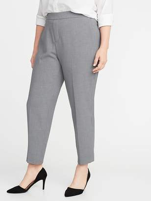 Old Navy Mid-Rise Secret-Slim Pockets Plus-Size Pull-On Straight Pants
