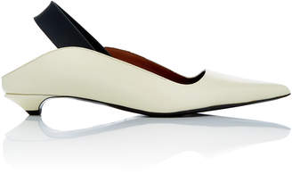 Proenza Schouler Pointed Toe Kitten Heel Pump