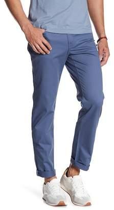 "Original Penguin P55 Stretch Straight Leg Twill Pants - 32\"" Inseam"