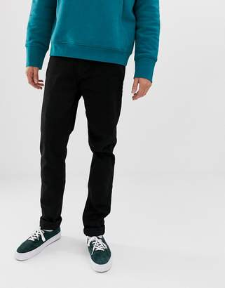 Weekday tall sunday tapered jeans black