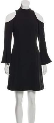 Nicole Miller Cold Shoulder Mini Dress w/ Tags