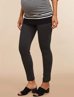 09f5781d342c4 Motherhood Maternity Secret Fit Belly Ponte Skinny Leg Maternity Ankle Pants