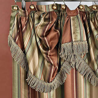 Asstd National Brand Contempo Shower Curtain with Valance