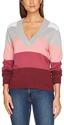 Gant Women's Multicolored Striped Sweater Jumper,(Manufacturer Size: M)