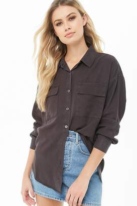 7235b84052c140 Forever 21 Grey Cold Shoulder Tops For Women - ShopStyle Canada