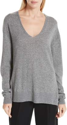 Vince Wool & Cashmere V-Neck Sweater