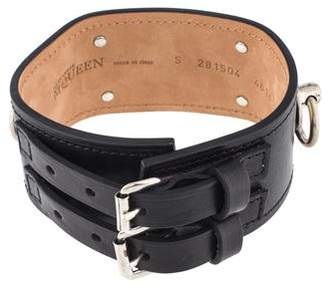 Alexander McQueen Leather Choker