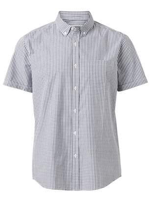 Jeanswest Ulrich Short Sleeve Gingham Shirt