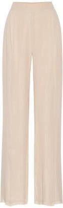 Max Mara Nuble silk wide-leg pants