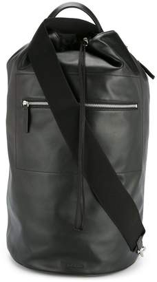 Jil Sander drawstring one-shoulder backpack