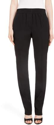 Givenchy Contrast Stripe Elastic Waist Pants