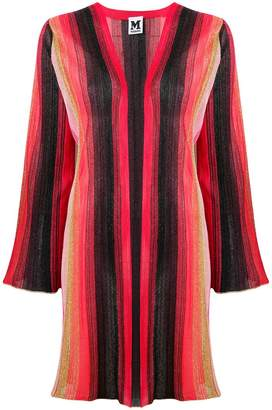 M Missoni striped knitted cardigan