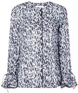 Derek Lam 10 Crosby graphic print blouse