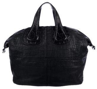 Givenchy Leather Embossed Nightingale Bag