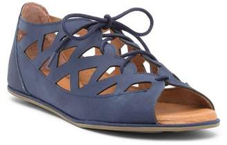Kenneth Cole Gentle Souls by Betsi Textured Leather Lace-Up Sandal
